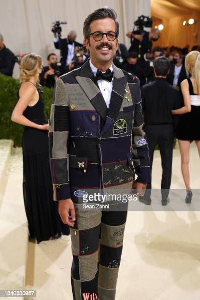 Will Welch attends 2021 Costume Institute Benefit - In America: A Lexicon of Fashion at the Metropolitan Museum of Art on September 13, 2021 in New...