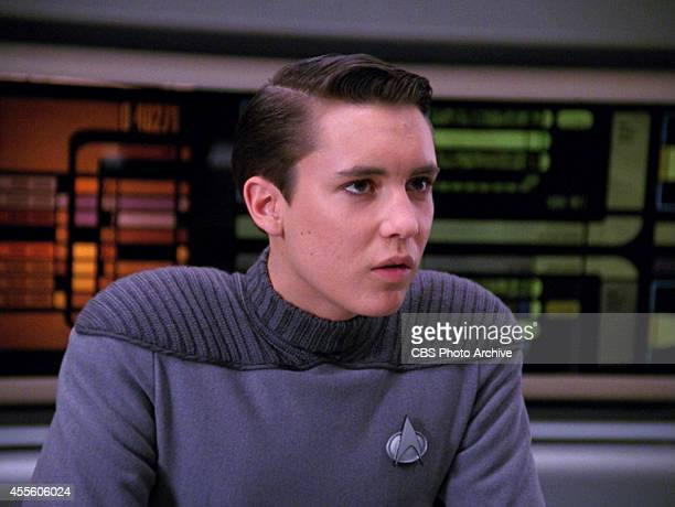 Will Wheaton as Wesley Crusher in the STAR TREK THE NEXT GENERATION episode Hollow Pursuits Original air date April 28 1990 Season 3 episode 21 Image...