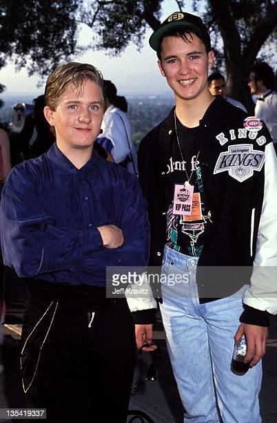 Will Wheaton at the Kids Choice Awards in Los Angeles in March 1990