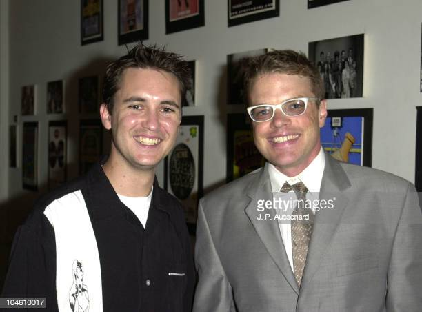 Will Wheaton JKeith Van Straaten during The JKeith Van Straaten Show Aids Marathon Special at Acme Theater in Los Angeles California United States