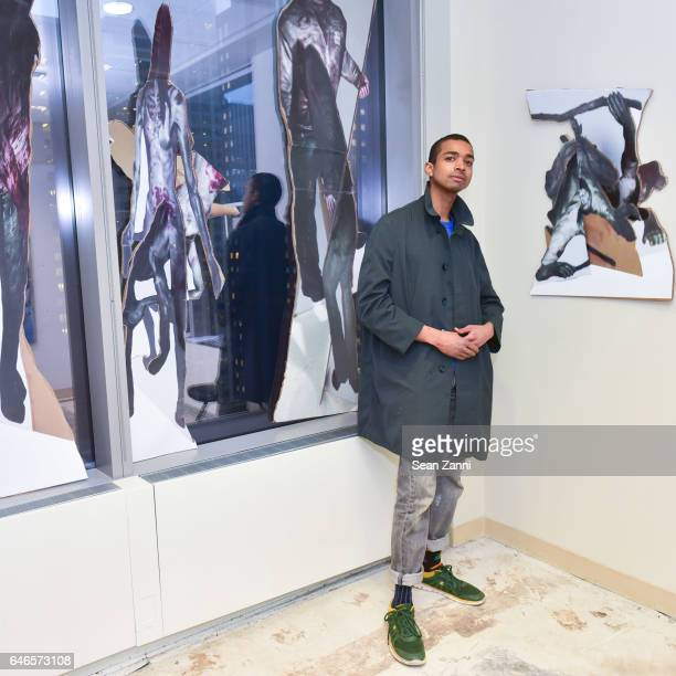Will Wheeler attends Spring Break Art Fair 2017 Vernissage at 4 Times Square on February 28 2017 in New York City