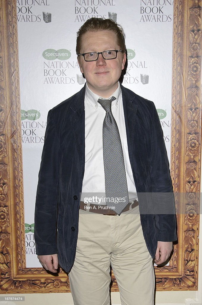 Will Wiles attends the Specsavers National Book Awards at Mandarin Oriental Hyde Park on December 4, 2012 in London, England.