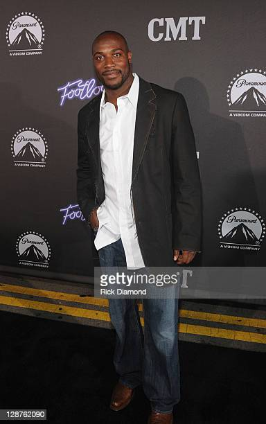 Will Witherspoon of the Tennessee Titan attends FOOTLOOSE Nashville screening on October 6 2011 in Nashville Tennessee