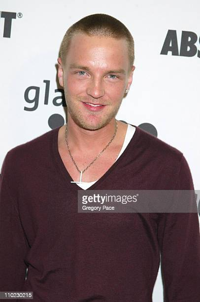 """Will Wykel of """"Big Brother 5"""" during 16th Annual GLAAD Media Awards - Arrivals at Marriott Marquis in New York City, New York, United States."""