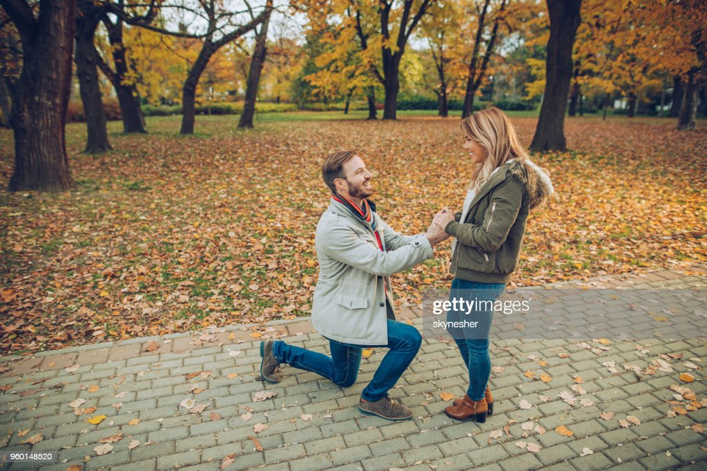 Willst du mich heiraten, meine Liebe? : Stock-Foto