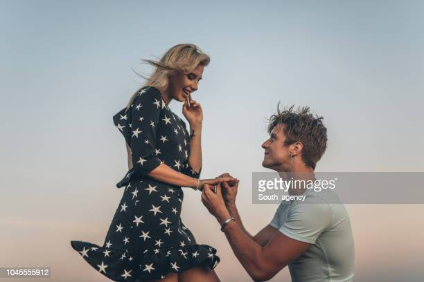 will you marry me - fiancé stock pictures, royalty-free photos & images