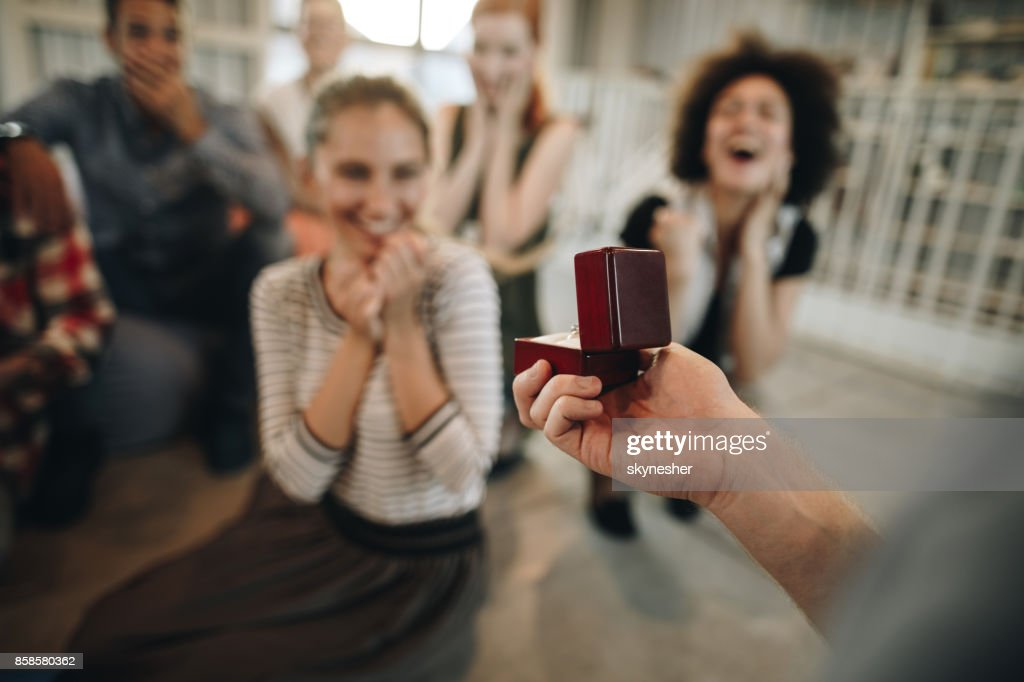 Will you marry me? : Stock Photo