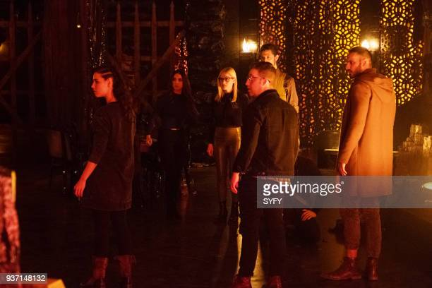 THE MAGICIANS 'Will You Play With Me' Episode 313 Pictured Jade Tailor as Kady OrloffDiaz Summer Bishil as Margo Hanson Olivia Taylor Dudley as Alice...