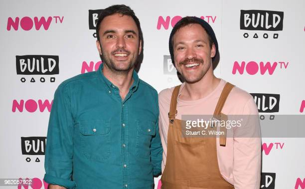 Will Young and Chris Sweeney attend a BUILD In London panel discussion on May 24 2018 in London England