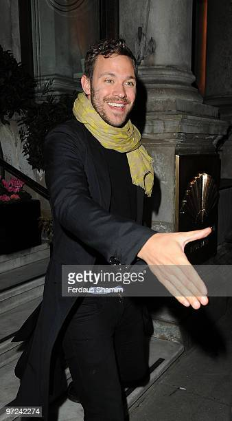 Will Young arrives at the AVON and Women's Aid Empowering Women Awards at Mandarin Oriental Hyde Park on March 1 2010 in London England