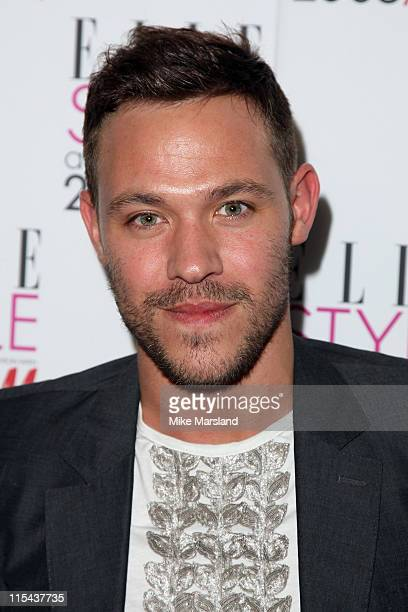 Will Young arrives at the Elle Style Awards 2008 at The Westway on February 12 2008 in London England