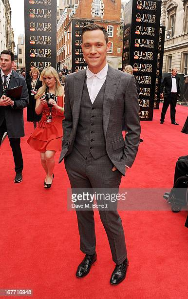 Will Young arrives at The Laurence Olivier Awards 2013 at The Royal Opera House on April 28 2013 in London England