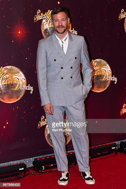 Will Young arrives for the launch of 'Strictly Come Dancing 2016' at Elstree Studios on August 30 2016 in Borehamwood England