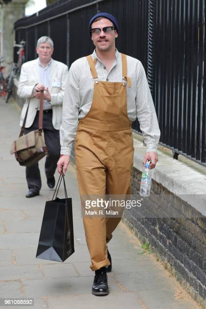 Will Young attending Chelsea Flower show on May 21 2018 in London England