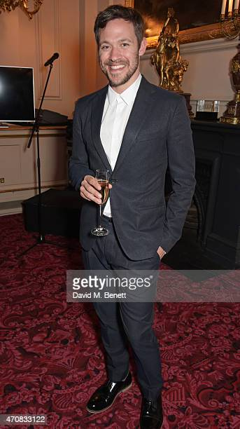 Will Young attends as Audi hosts the opening night performance of 'La Fille Mal Gardee' at The Royal Opera House on April 23 2015 in London England