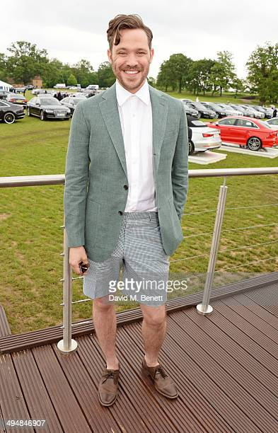 Will Young attends day one of the Audi Polo Challenge at Coworth Park Polo Club on May 31 2014 in Ascot England