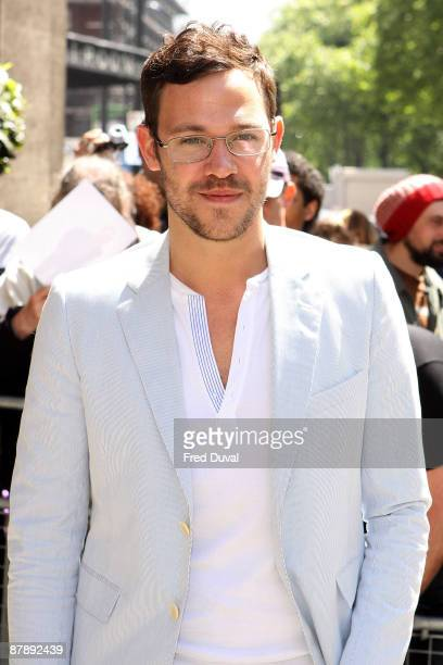 Will Young attends the Ivor Novello Awards at Grosvenor House on May 21 2009 in London England