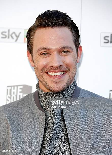 Will Young attends the South Bank Sky Arts Awards at The Savoy Hotel on June 7 2015 in London England