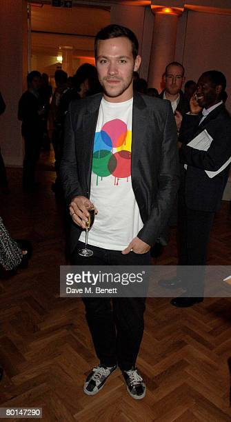Will Young attends the TOD's Art Plus Film Party, at 1 Marylebone Road on March 6, 2008 in London, England.