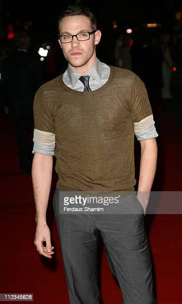 Will Young during '300' London Premiere Outside Arrivals at Vue West End in London Great Britain