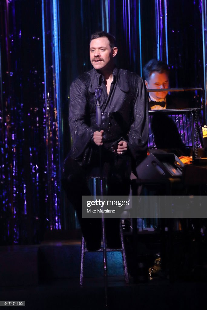 Will Young during a photocall for 'Strictly Ballroom The Musical' at Piccadilly Theatre on April 17, 2018 in London, England.