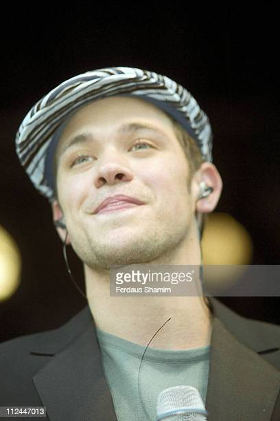 """Will Young during """"Pop Idol"""" Contestants in London, Great Britain."""