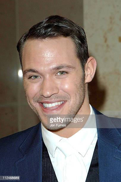 Will Young during Sony Ericsson Empire Film Awards 2006 Inside at Cobden Club in London Great Britain