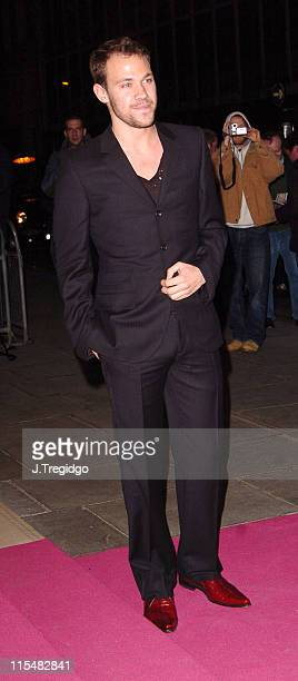 Will Young during The LaurentPerrier Pink Party Arrivals at Sanderson Hotel in London Great Britain