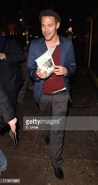 Will Young during 'Who's Afraid of Virginia Woolf' at the Apollo Theatre in London Press Night at Apollo Theatre in London Great Britain