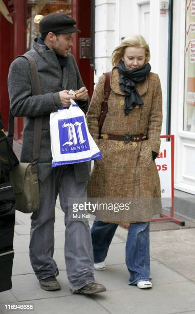 Will Young during Will Young Sighting in Primrose Hill January 26 2006 at Primrose Hill in London Great Britain