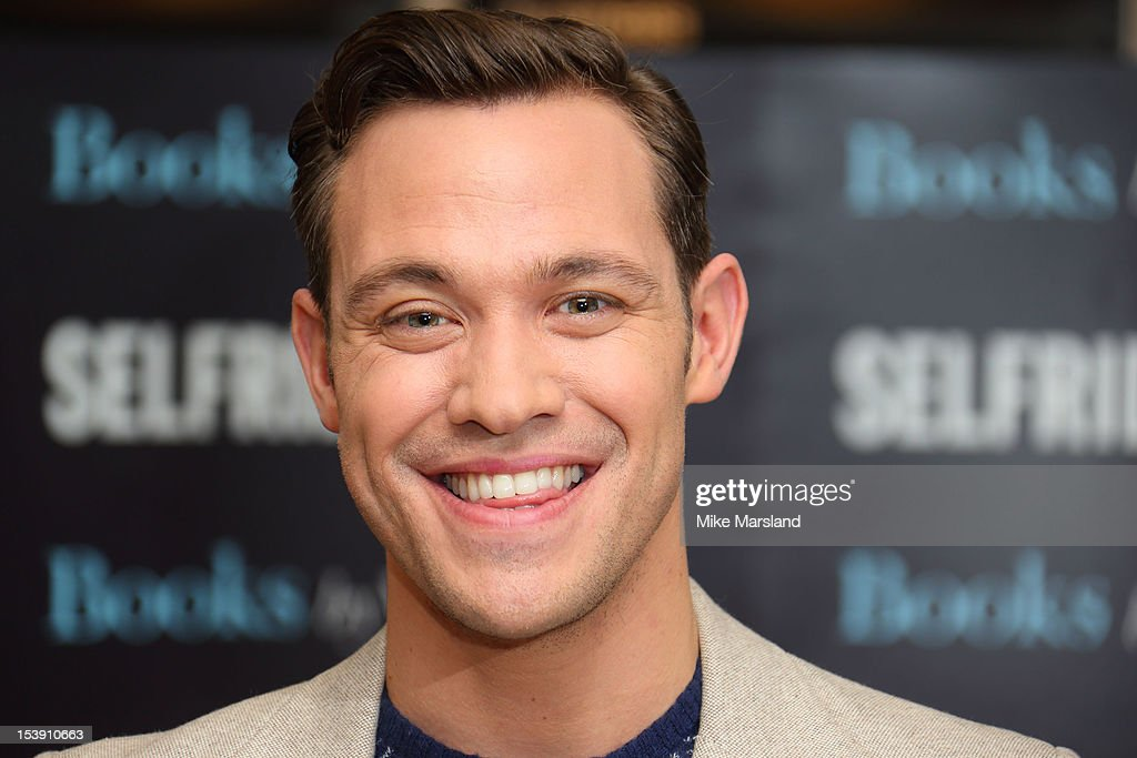 Will Young meets fans and signs copies of his book 'Funny Peculiar' at Selfridges on October 11, 2012 in London, England.