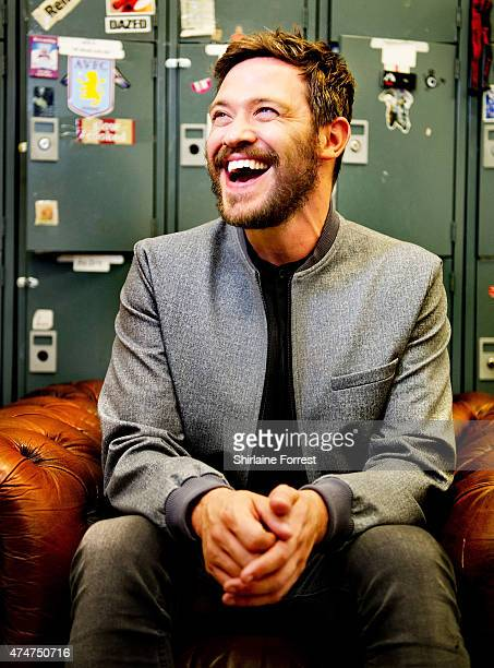 Will Young meets fans and signs copies of his new album '85% Proof' at HMV Manchester on May 25 2015 in Manchester England