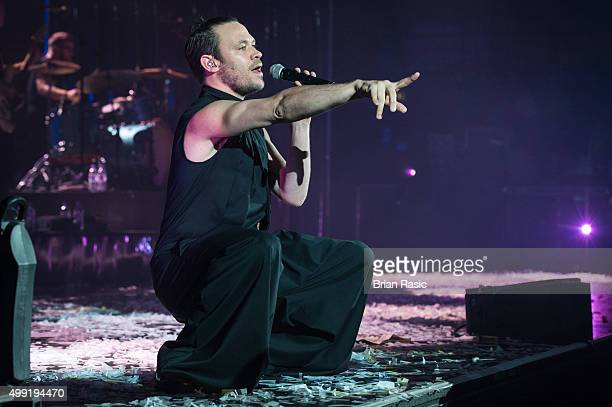 Will Young performs at Eventim Apollo on November 29 2015 in London England