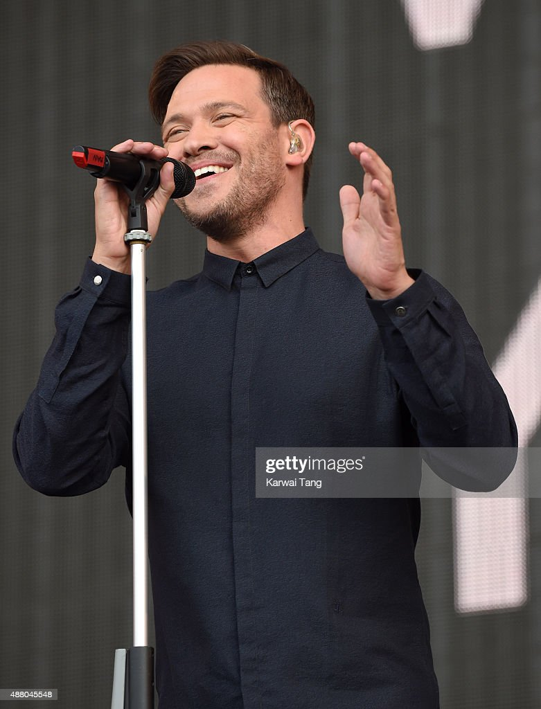 Will Young performs at the BBC Radio 2 Live In Hyde Park Concert at Hyde Park on September 13, 2015 in London, England.