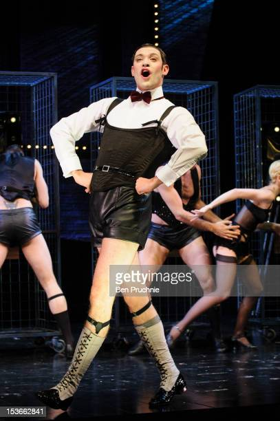 Will Young performs during a photocall for 'Caberet' at The Savoy Theatre on October 8, 2012 in London, England.