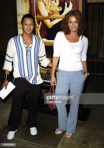 Will Yun Lee and Dina Meyer during Wicker Park Premiere Arrivals at Egyptian Theatre in Hollywood California United States