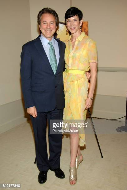 Will Zeckendorf and Amy Fine Collins attend Susan FalesHill's ONE FLIGHT UP Book Launch Party at 15 Central Park West on July 21st 2010 in New York...