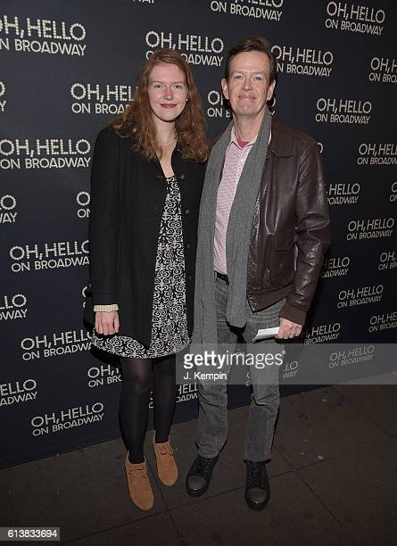 Willa Baker and actor Dylan Baker attend the opening night of Oh Hello On Broadway at Lyceum Theatre on October 10 2016 in New York City