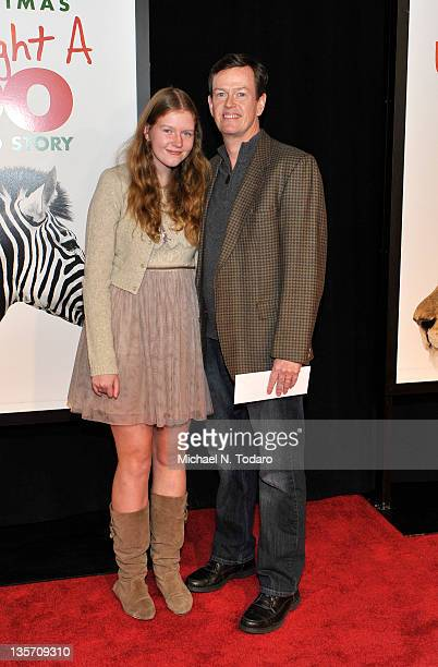 Willa Baker and Dylan Baker attend the We Bought a Zoo premiere at Ziegfeld Theater on December 12 2011 in New York City