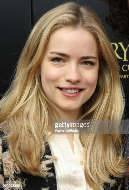 Willa Fitzgerald attends the Broadway Opening Day performance of 'Harry Potter and the Cursed Child Parts One and Two' at The Lyric Theatre on April...