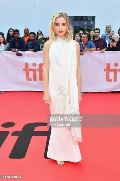 Willa Fitzgerald attends The Goldfinch premiere during the 2019 Toronto International Film Festival at Roy Thomson Hall on September 08 2019 in...