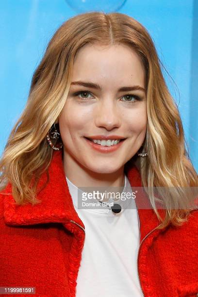 Willa Fitzgerald visits People Now on January 16 2020 in New York United States