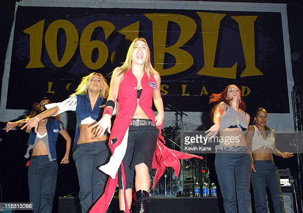 Willa Ford during 106.1 BLI Long Island Winter Jam 2001 - Show at Nassau Coliseum in Uniondale, New York, United States.