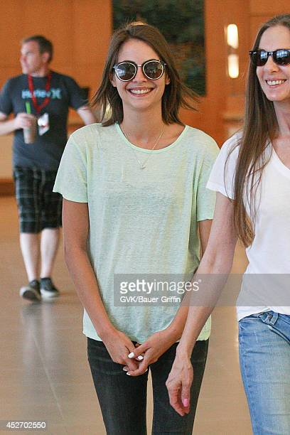 Willa Holland arrives at ComicCon on July 25 2014 in San Diego California