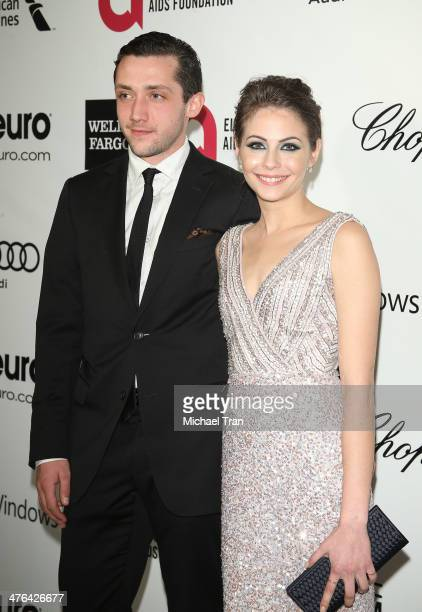 Willa Holland arrives at the 22nd Annual Elton John AIDS Foundation's Oscar viewing party held on March 2 2014 in West Hollywood California