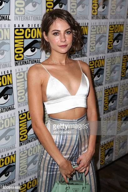 Willa Holland arrives at the 'Arrow' press line at ComicCon International 2017 on July 22 2017 in San Diego California