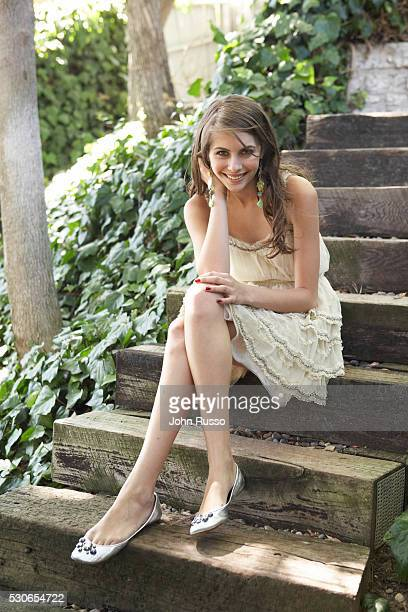 Willa Holland at Home
