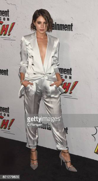 Willa Holland attends Entertainment Weekly's annual ComicCon party in celebration of ComicCon 2017 at Float at Hard Rock Hotel San Diego on July 22...