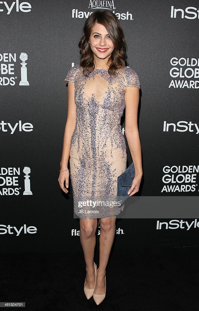 Willa Holland attends The Hollywood Foreign Press Association (HFPA) And InStyle 2014 Miss Golden Globe Announcement/Celebration at Fig & Olive Melrose Place on November 21, 2013 in West Hollywood, California.
