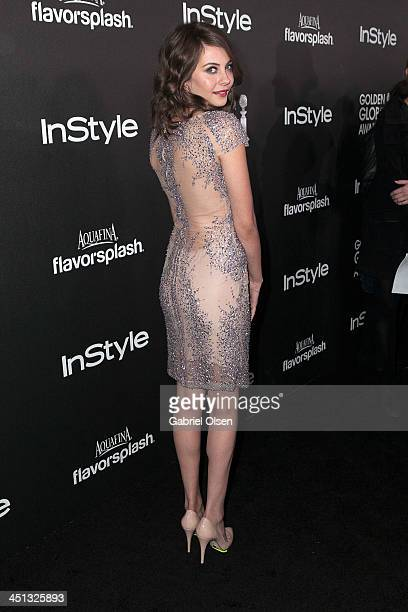 Willa Holland attends The Hollywood Foreign Press Association And InStyle Celebrates The 2014 Golden Globe Awards Season at Fig & Olive Melrose Place...